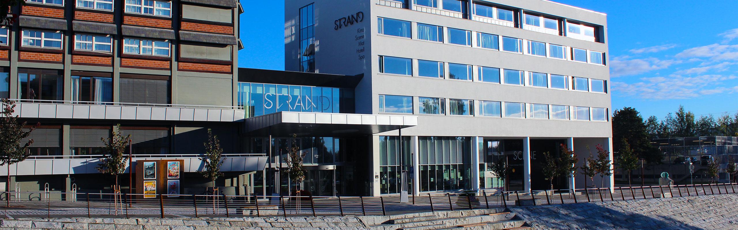 Fasade Gjøvik Kino & Scene