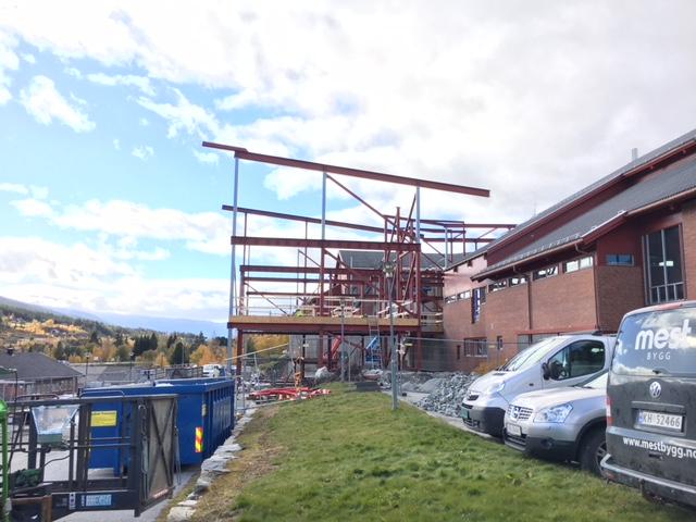 Nye Ål kulturhus byggeprosess